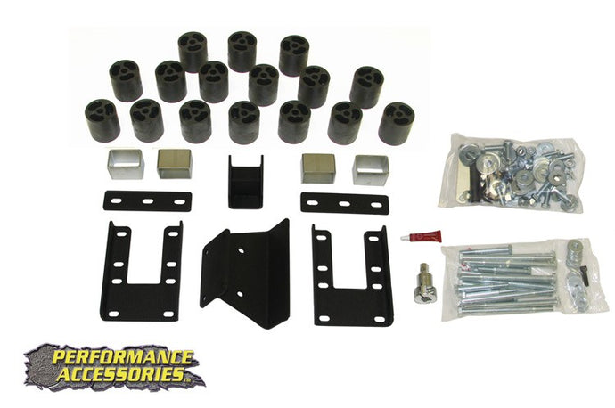 3IN DODGE BODY LIFT KIT