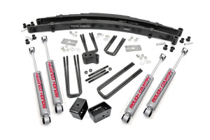 4IN DODGE SUSPENSION LIFT KIT (70-74 W-SERIES PU | DANA 44)
