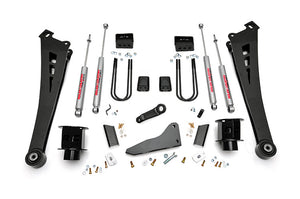 5IN DODGE SUSPENSION LIFT KIT | COIL SPACERS | RADIUS ARMS (13-15 RAM 3500)