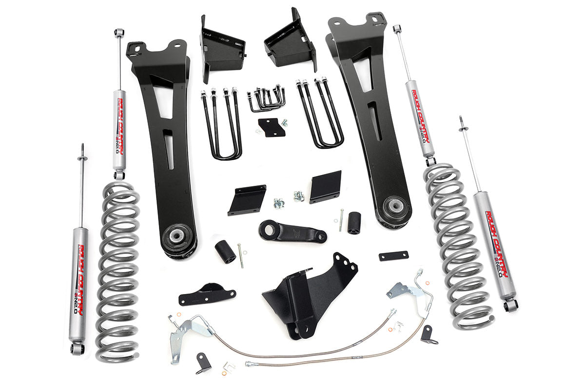 6IN FORD SUSPENSION LIFT KIT | RADIUS ARMS (11-14 F-250 4WD | DIESEL)