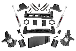 Open image in slideshow, 7.5IN GM SUSPENSION LIFT KIT (07-13 1500 PU 4WD)