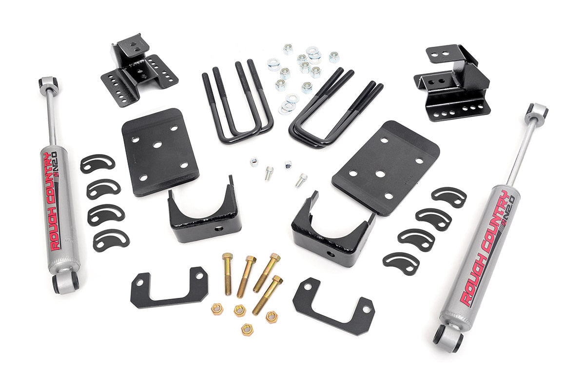 2IN / 4IN GM LOWERING KIT (14-15 1500 PU 2WD)