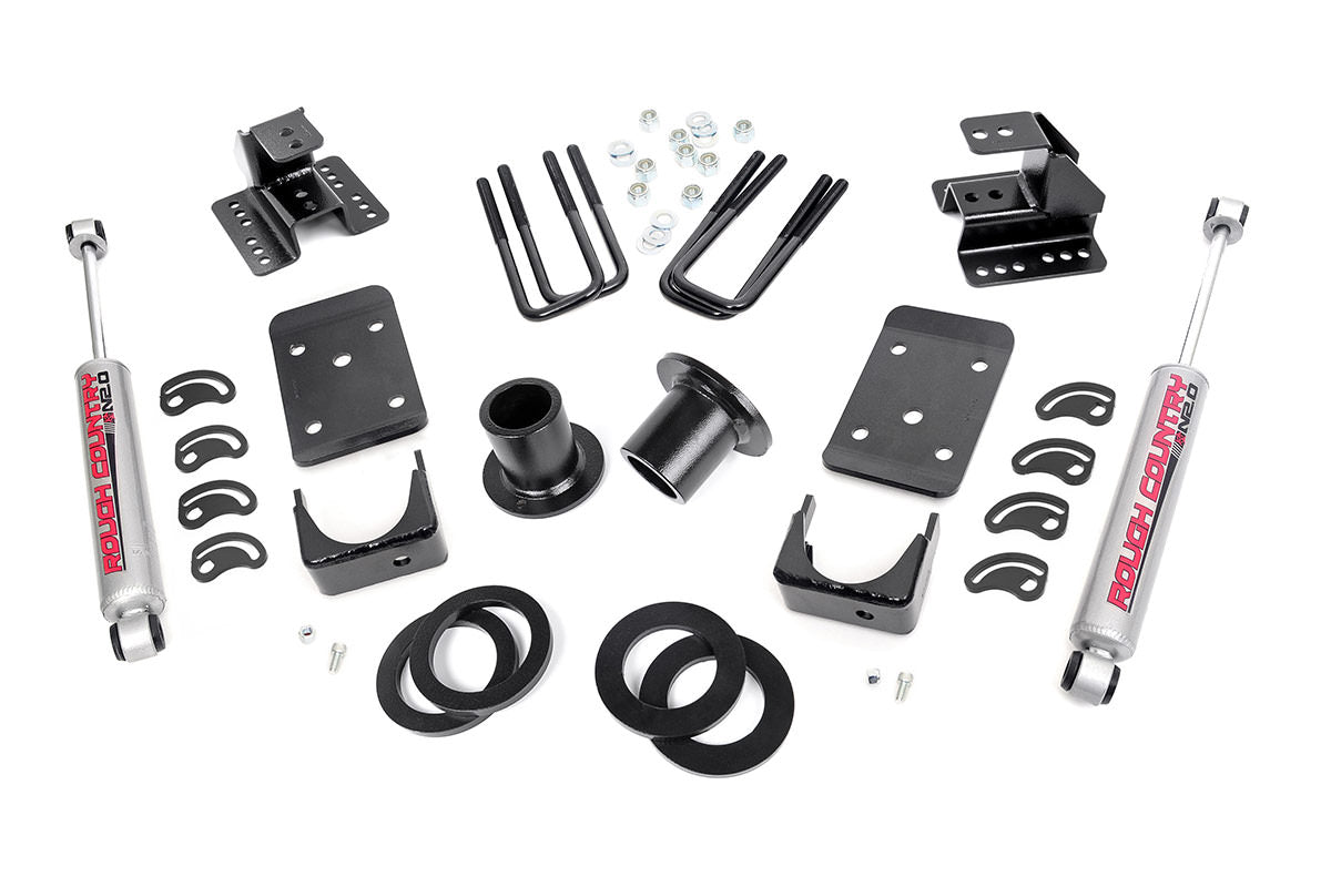 1-2IN / 4IN GM LOWERING KIT (07-13 1500 PU 2WD)