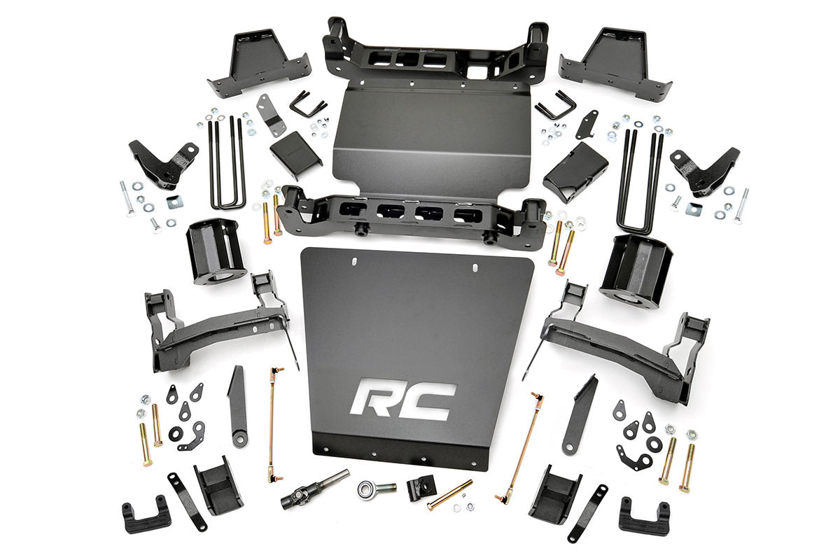 (SKU:176) 7IN GMC SUSPENSION LIFT KIT (14-16 1500 DENALI PU 4WD W/MAGNERIDE)