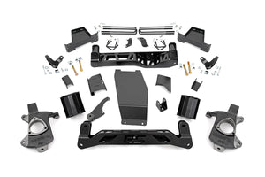 (SKU:184) 6IN GMC SUSPENSION LIFT KIT (14-18 1500 DENALI PU 4WD W/MAGNERIDE)