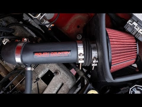 Jeep Cold Air Intake w/ Pre-Filter (18-20 Wrangler JL/ 2020 Gladiator)