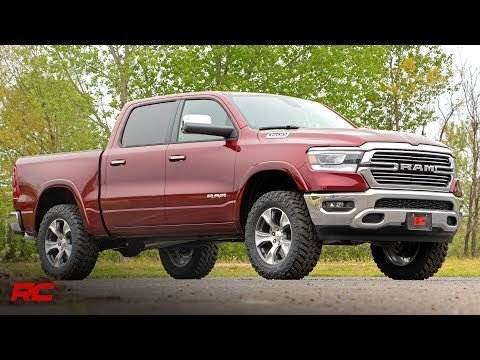 3.5in Ram Bolt-On Lift Kit w/ Rear V2 Shocks (19-21 Ram 1500 4WD)