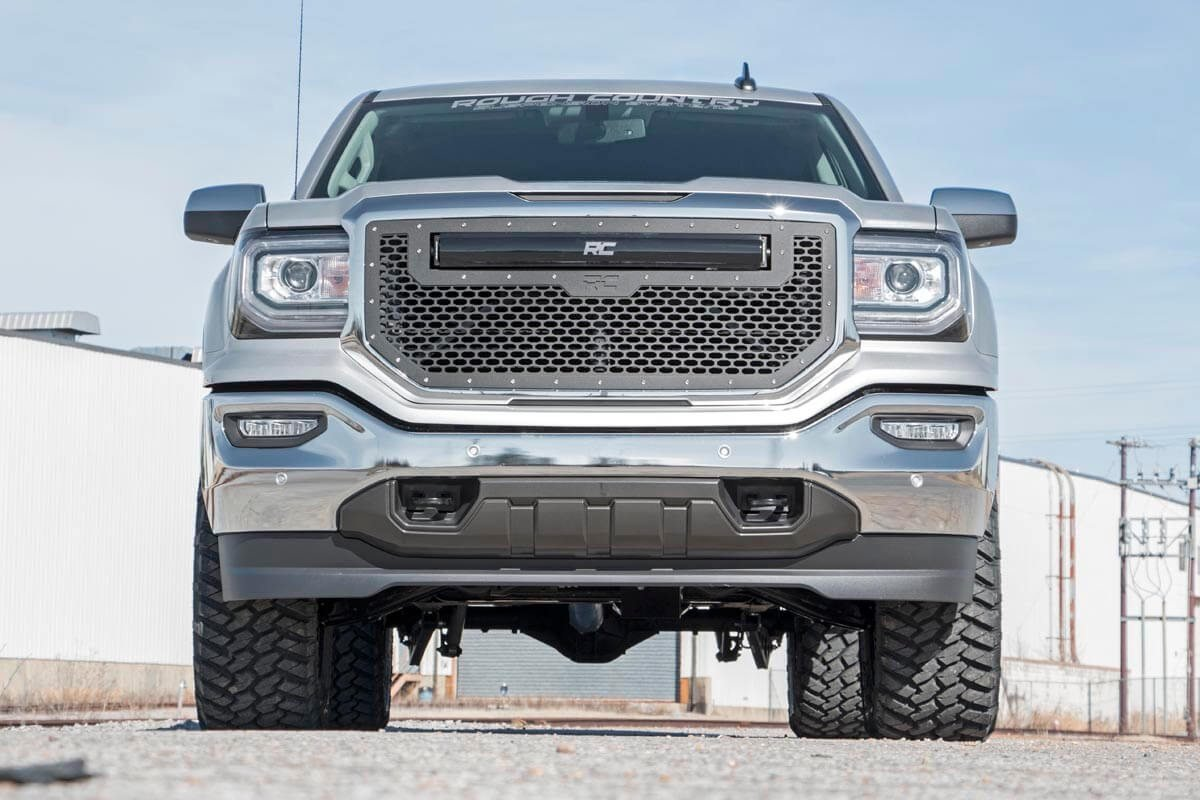 3.5in GM Suspension Lift | Knuckle Kit  w/ Vertex (14-18 1500 PU 4wd | Aluminum and Stamped Steel)