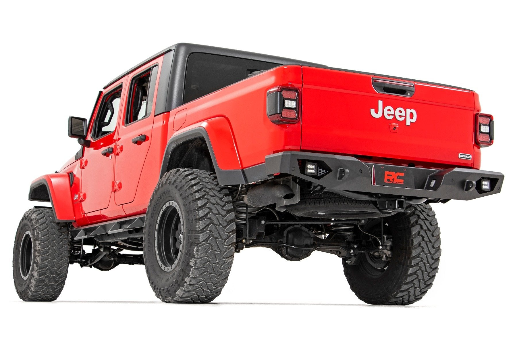 Jeep Heavy-Duty Rear LED Bumper (2020 Gladiator)