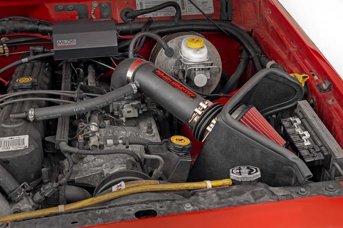 Cold Air Intake w/Pre-Filter Bag [91-01 Jeep XJ | 4.0L]