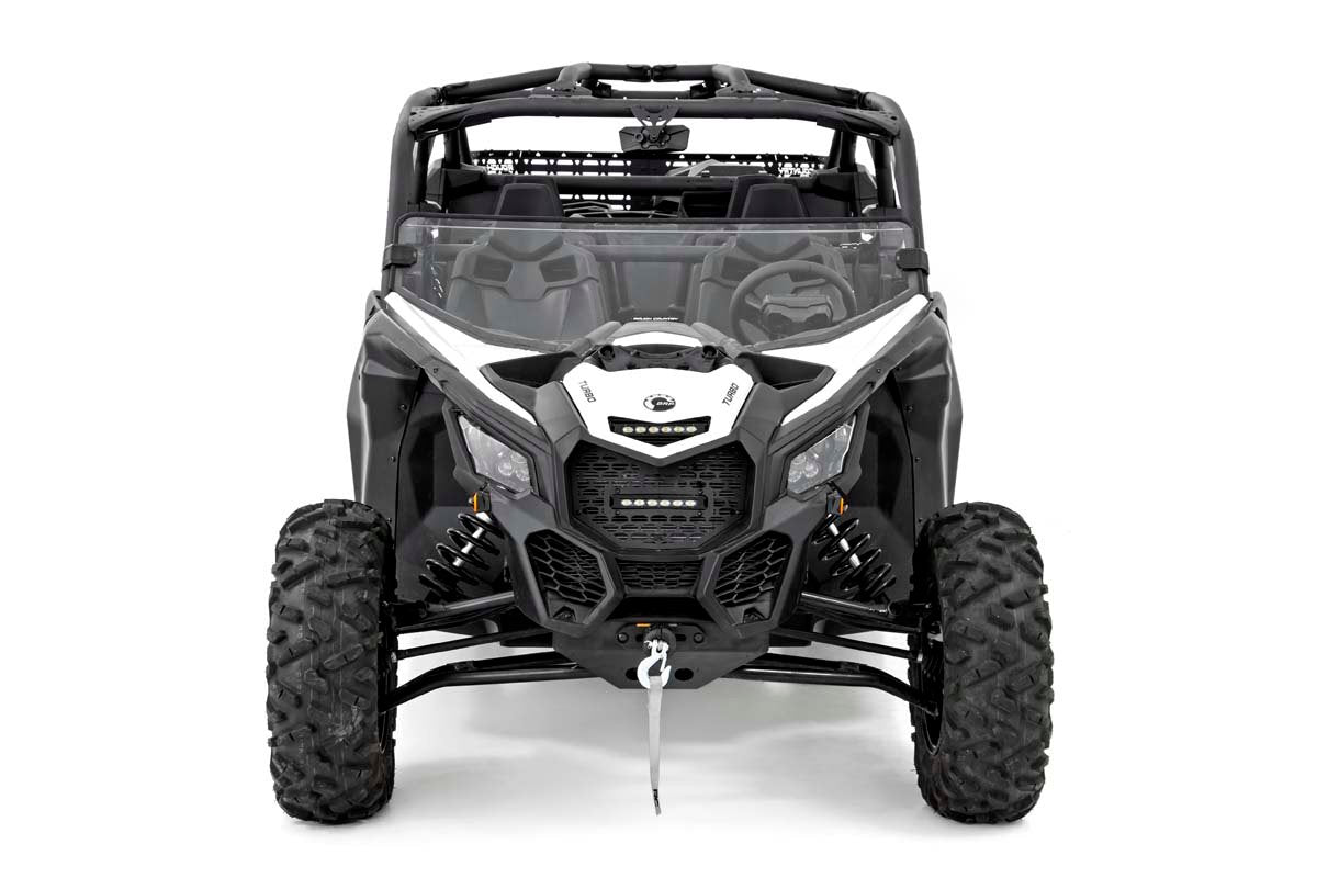 Can-Am Scratch Resistant Half Windshield (17-20 Maverick X3)