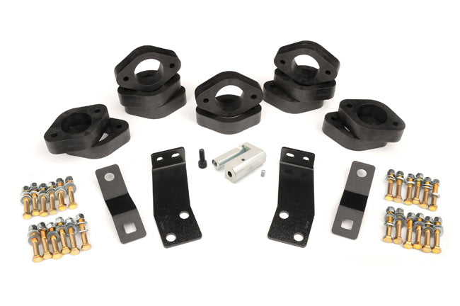 1.25IN JEEP BODY LIFT KIT (07-18 JK WRANGLER 4-DOOR/MAN TRANS)