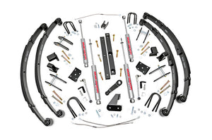 Open image in slideshow, 4.5IN JEEP X-SERIES SUSPENSION LIFT KIT (MILITARY WRAP SPRINGS)