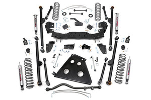 4-inch X-Series Long Arm Suspension Lift System