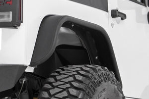JEEP TUBULAR REAR FENDER FLARES (07-18 WRANGLER JK)