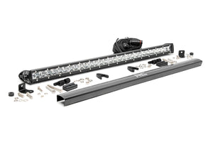 30-INCH CREE LED LIGHT BAR - (SINGLE ROW | CHROME SERIES)
