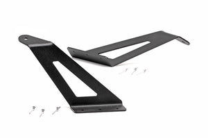 FORD 54-INCH CURVED LED LIGHT BAR UPPER WINDSHIELD MOUNTS (99-16 SUPER DUTY)