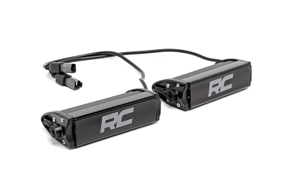6-INCH CREE LED LIGHT BARS (PAIR | CHROME SERIES)