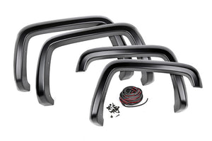 Open image in slideshow, CHEVROLET POCKET FENDER FLARES | SMOOTH (14-15 SILVERADO 1500)