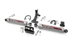 Dual Steering Stabilizer for 4-inch Lifts