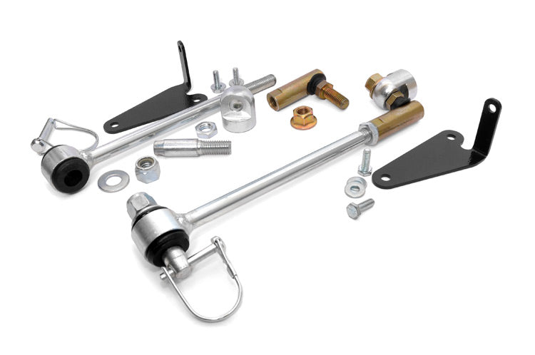 Front Sway Bar Quick Disconnects for 2.5-inch Lifts