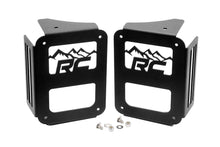 JEEP TAIL LIGHT COVERS | MOUNTAINS (07-18 WRANGLER JK)