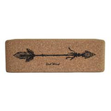 Cork Yoga Block - Twin Arrow  by 2nd Wind Health & Fitness