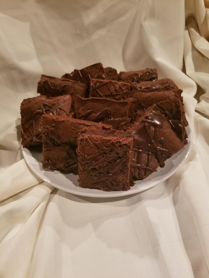 Triple Chocolate Brownies - Rosena's Creation, LLC