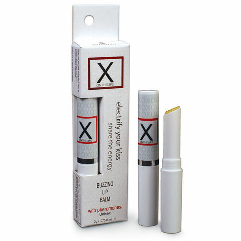 X On The Lips Buzzing Lip Balm With Pheromones