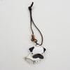 Leather Charm Chó Pug - PT019