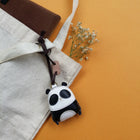 Leather Charm Gấu trúc - PT001