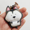 Leather Charm Chó Husky - PT018