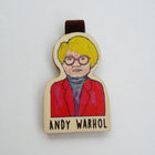 Bookmark gỗ nam châm Andy Warhol Set 1 - BO024