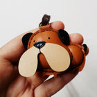 Leather Charm Chó Bulldog - PT005