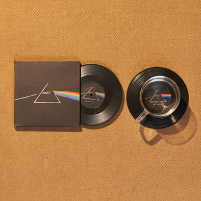 Bộ 2 Lót ly Đĩa than Pink Floyd Dark Side of the Moon - CS005
