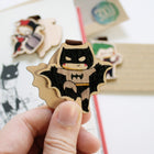 Bookmark gỗ nam châm Harley Quin Joker Batman Set 3 - BM013