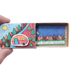 "Cute Card, Funny Friendship Card, ""Let's Get Lost Together"" Matchbox Card"