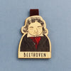 Bookmark gỗ nam châm Beethoven Set 1 - BO003