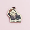 Bookmark gỗ nam châm Stephen Hawking Set 1 - BO014