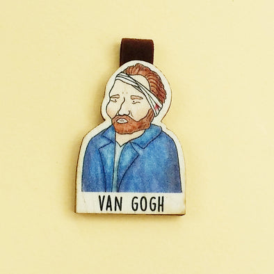 Bookmark gỗ nam châm Vincent van Gogh Set 1 - BO017