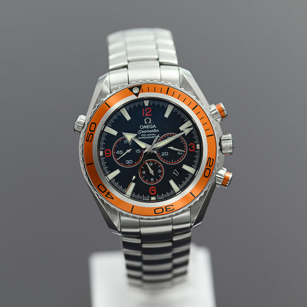 Omega SeaMaster Planet Ocean Chrono Orange 46mm