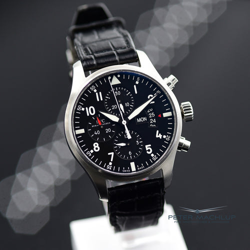 IWC Pilot Chronograph on Leather