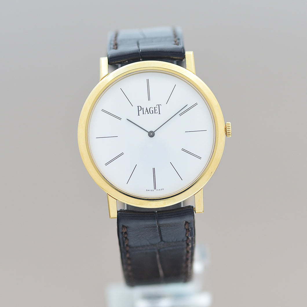 Piaget Altiplano Ultra Flat on Leather 38mm