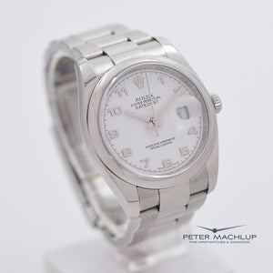 Rolex Datejust 36mm White Dial