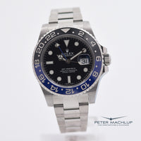 "Rolex GMT Master 2 40mm ""Batman"""