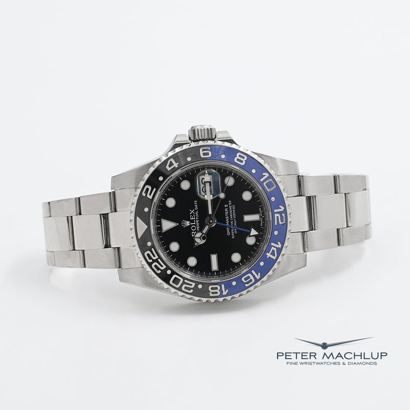 "Rolex GMT Master 2 ""Batman"" 40mm"