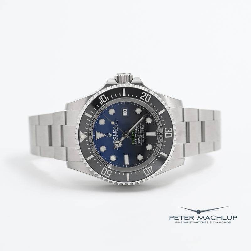 Rolex Deepsea Seadweller 44 James Cameron with full stickers from 2019