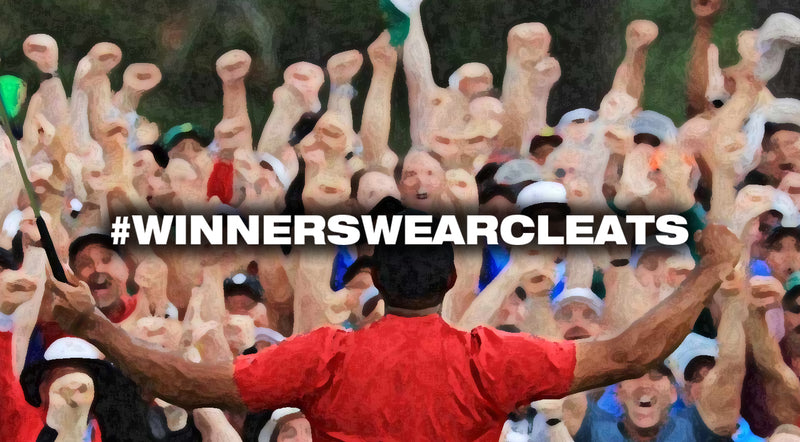 CLEATED FOOTWEAR PART OF HISTORY-MAKING VICTORY AT THE MASTERS