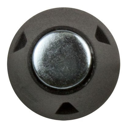 Soccer Stud (13mm/16mm) - Steel Tip - Black