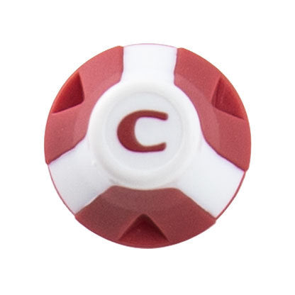 Soccer Stud (13mm/16mm) - Red/White